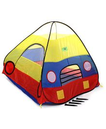 Baby Play Tent House Car Print - Multicolor