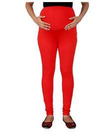 MomToBe Maternity Leggings - Red