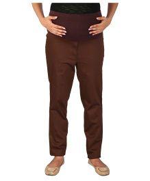 Momtobe Maternity Trousers - Brown