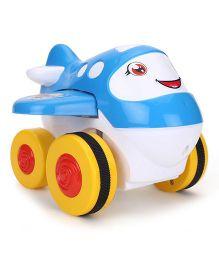 Kids Zone Cartoon Plane Toy - Blue
