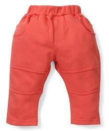 Zero Full Length Solid Color Bottom - Coral