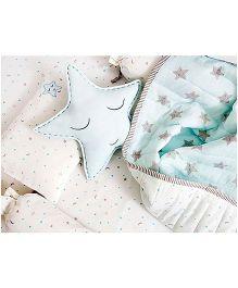 Masilo Linen For LittlesDohar Blankets - Blue