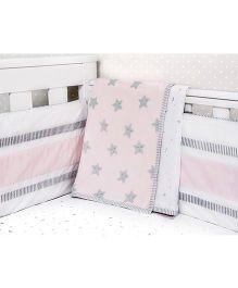 Masilo Linen For Littles Dohar Blankets - Pink