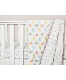 Masilo Quilted Bear Print - Multicolor