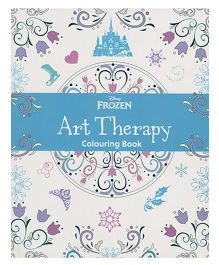 Disney Frozen Art Therapy Colouring Book - English