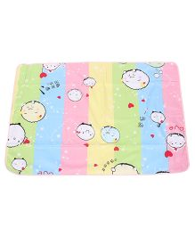 Baby Mat With Cartoon Print - Multicolor