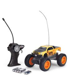 Maisto Remote Controlled Rock Crawler Junior - Yellow