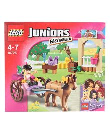 Lego Juniors Easy To Build Stephanie's Horse Carriage - Multicolor