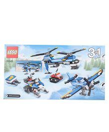 Lego Creator Twin Spin Helicopter 3 In 1 - Multicolor
