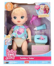 Baby Alive Twinkles N Twinkles Doll Blue - Height 13 Inches