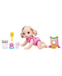 Baby Alive Baby Go Bye Bye Pink - 13 Inches