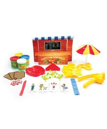 Fun Dough Funskool Fruits And Vegetables Market Place (Color May Vary)