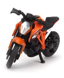 Siku Funskool Die Cast KTM 1290 Toy Bike - Orange Black