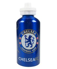 Chelsea FC Aluminium Sports Water Bottle Dark Blue - 400 ml