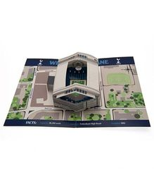 Tottenham Hotspur FC Pop Up Birthday Card - Blue Grey