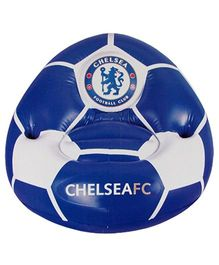 Chelsea F C Inflatable Chair - Blue white