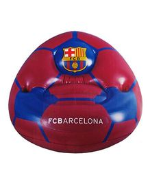 Barcelona F C Inflatable Chair - Red Blue