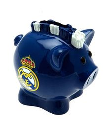 Real Madrid FC Mini Mohawk Ceramic Piggy Bank - Dark Blue