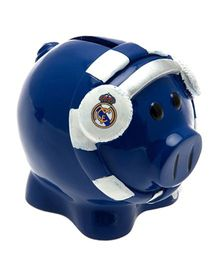 Real Madrid FC Mini Scarf Ceramic Piggy Bank - Dark Blue