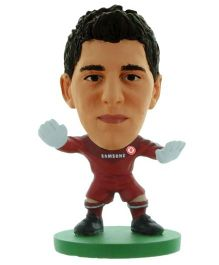 Chelsea F C SoccerStarz Thibaut Courtois Red - Height 5 cm
