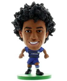 Chelsea F C SoccerStarz Willian Blue - Height 5 cm