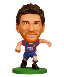 F C Barcelona SoccerStarz Lionel Messi Blue Red - Height 5 cm
