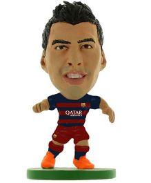 FC Barcelona SoccerStarz Luis Suarez Figure - Height 5 cm