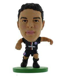 Paris Saint Germain FC SoccerStarz Thiago Silva Figure - Height 5 cm