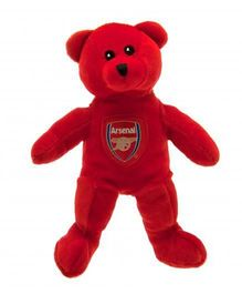 Arsenal FC Mini Beanie Bear Red - 20 cm