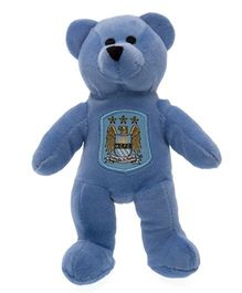 Manchester City FC Mini Beanie Bear Blue - 20 cm