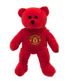 Manchester United FC Mini Beanie Bear Red - 20 cm