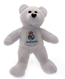 Real Madrid FC Mini Beanie Bear White - 20 cm