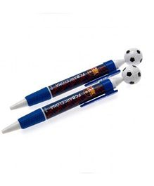 FC Barcelona Pen Set Of 2 - Blue