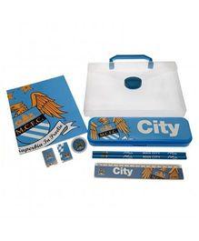 Manchester City FC Stationery Set - Blue