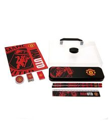 Manchester United FC Stationery Set - Red Black