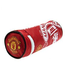Manchester United FC Cylindrical Pencil Case - Red
