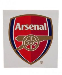 Arsenal FC Logo Window Sticker - Red