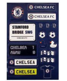 Chelsea FC Sticker Set - Navy