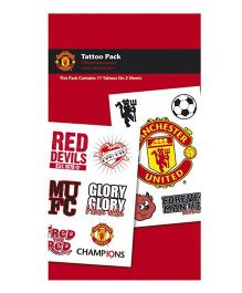 Manchester United FC Tattoo Pack - Red