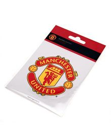 Manchester United FC Sticker - Yellow Red