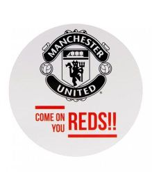 Manchester United FC Sticker - Red Black