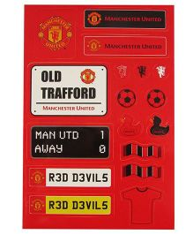 Manchester United FC Sticker Set - Red