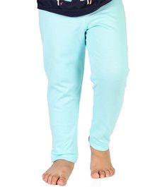 Nahshonbaby Full Length Leggings - Sky Blue