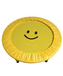 SkyJumper Smiley Face Kids Trampoline Yellow - 40 Inches