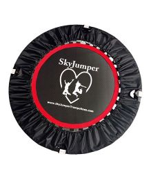 SkyJumper Supreme Trampoline Black - 40 Inches