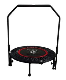 SkyJumper Supreme Trampoline With Handle Black - 40 Inches