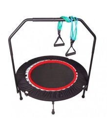 SkyJumper Ultimate Exerciser Trampoline Black - 40 Inches