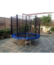SkyJumper Trampoline With Enclosure -  96 Inches