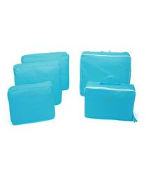 EZ Life 5 Piece Travel Bag-in-bag Organizer - Blue