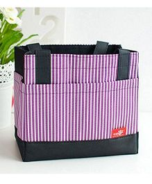 EZ Life Thermal Lunch Box Bag - Purple